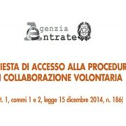 antiriciclaggio e voluntary disclosure